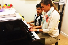 Piano classes in Dubai - Melodica Furjan Branch