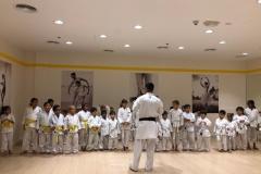 Karate Exam at Melodica Furjan Branch