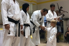 Karate Exam at Melodica Furjan Branch