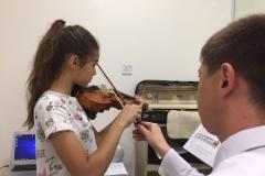 Violin classes in Dubai - Melodica Furjan Branch