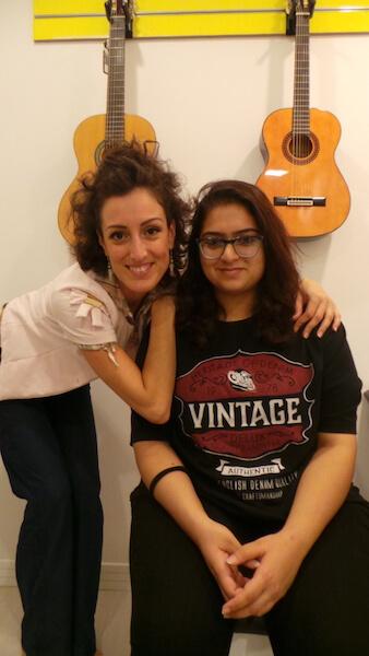 Guitar classes in Dubai - Melodica Music Center JLT Branch Dubai