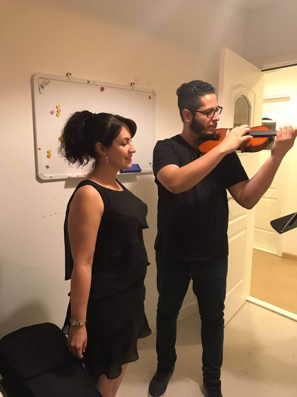 violin classes in Dubai - Melodica Music Center JLT Branch Dubai