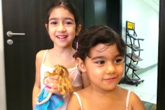 Happy kids at melodica music and dance institute JLT dubai