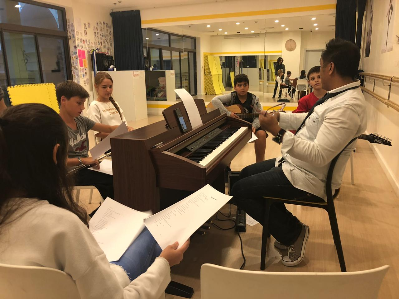 piano classes in Dubai