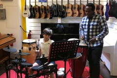 drums classes at melodica palm branch