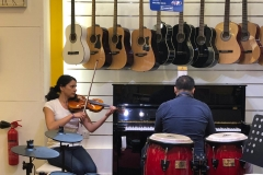 violin and piano classes in Dubai - Melodica Music center Palm branch