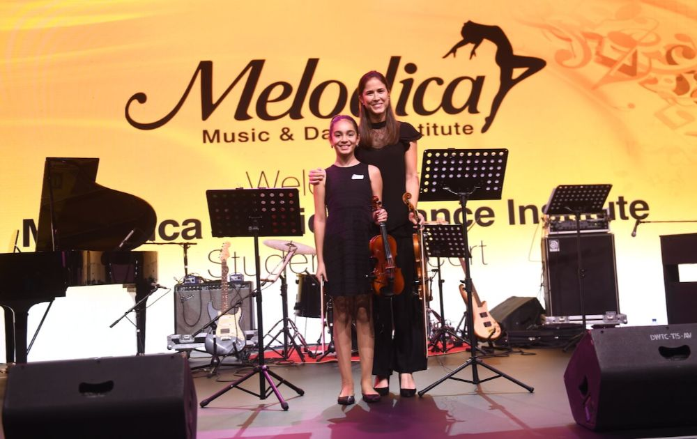 Violin classes in Dubai melodica