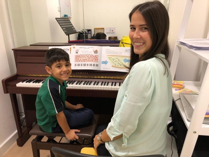 Piano Classes in Dubai - Melodica The Villa Branch
