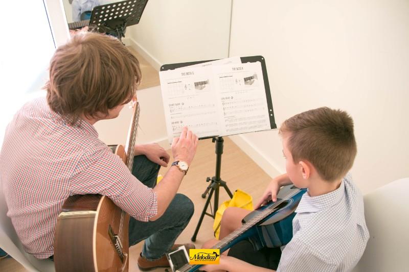 Guitar Teacher at Melodica Music Center the Villa