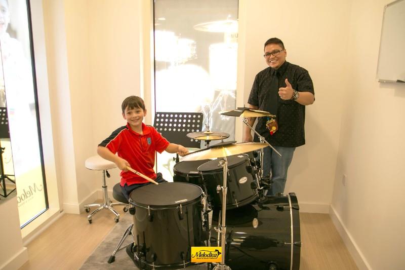 Drums Teacher at Melodica Music Center the Villa