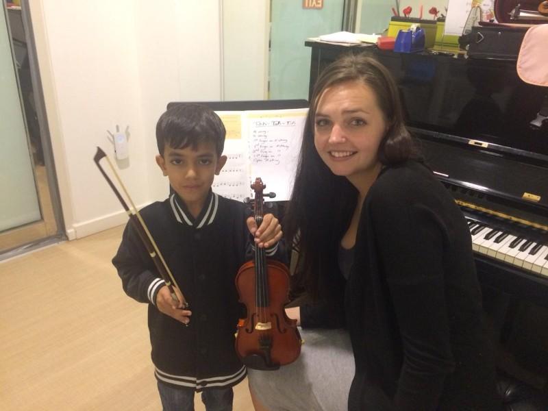Melodica Wasl Branch Violin Classes