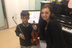 Melodica Wasl Branch Violin Classes