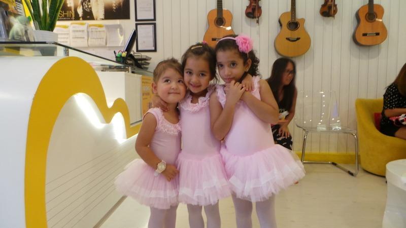 kids ballet classes at melodica dubai