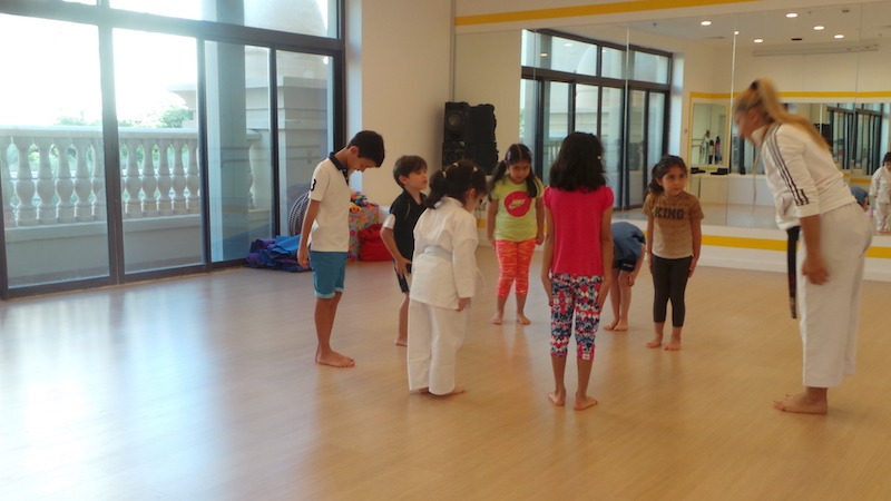 karate classes at melodica music centre dubai