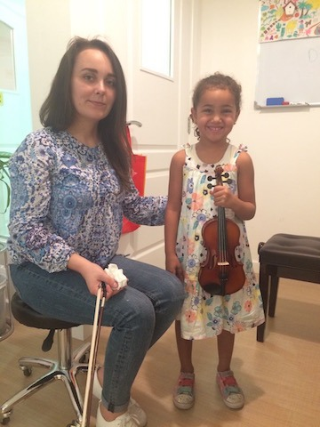 violin class dubai