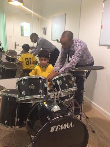 drum lesson dubai