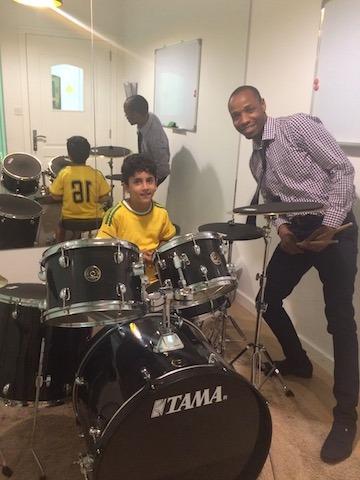 drum lessons at melodica music school in dubai