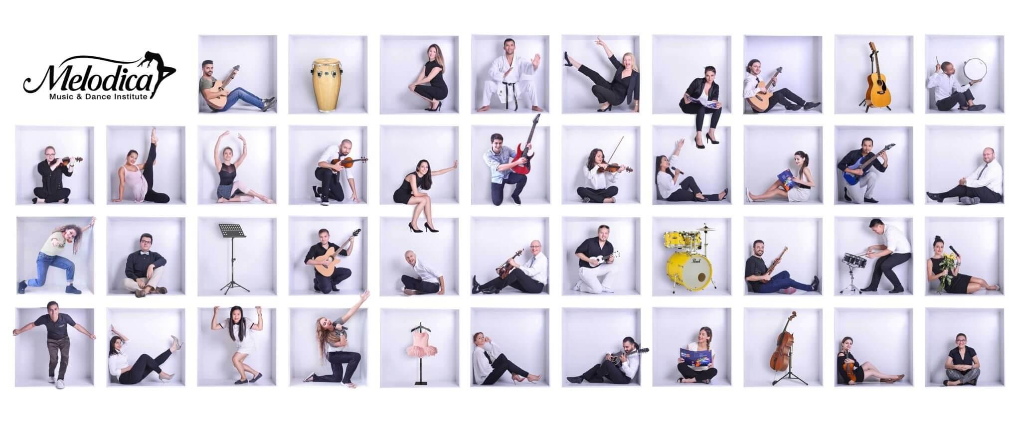 Melodica music school teacher dubai