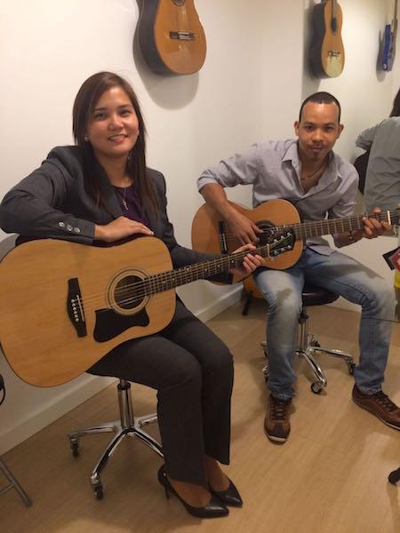 guitar lesson melodica dubai