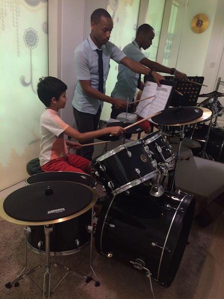 drums lesson melodica dubai