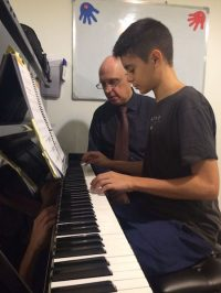 Piano lessons at Melodica Dubai