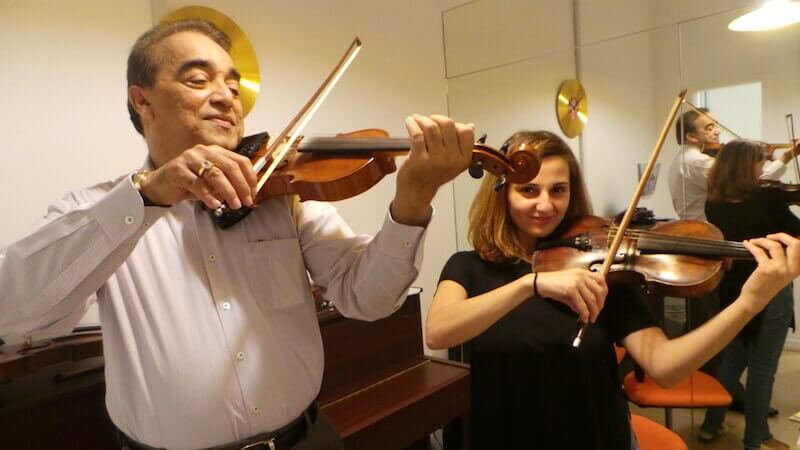 Music Classes for Adults - Violin Class