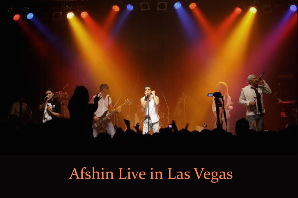 Afshin at Concert - Afshinmusic.com