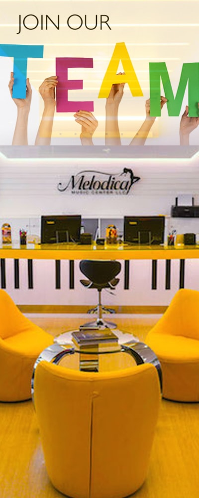 Join Our Team - Jobs at melodica Music Center Dubai, UAE