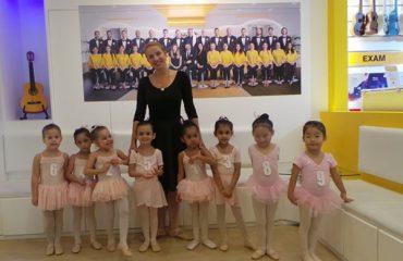 ballet classes for kids in Dubai