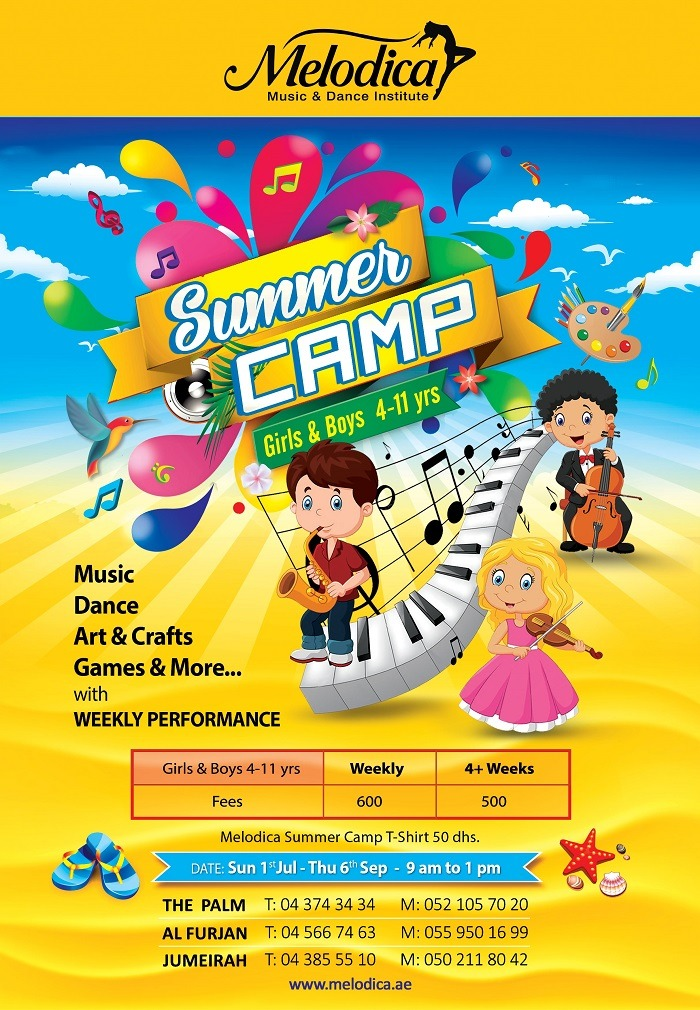 Melodica Summer Camp