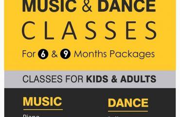 Upto 30% Offer on Music Dance Classes at Melodica Music Center Dubai