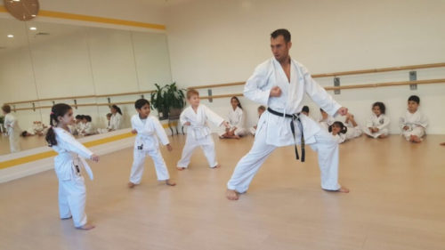 karate classes Training - Melodica.ae