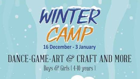 winter camp at melodica dubai