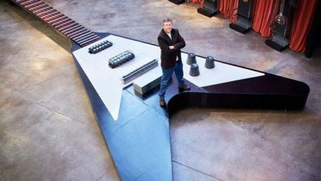 world largest guitar - melodica blog article
