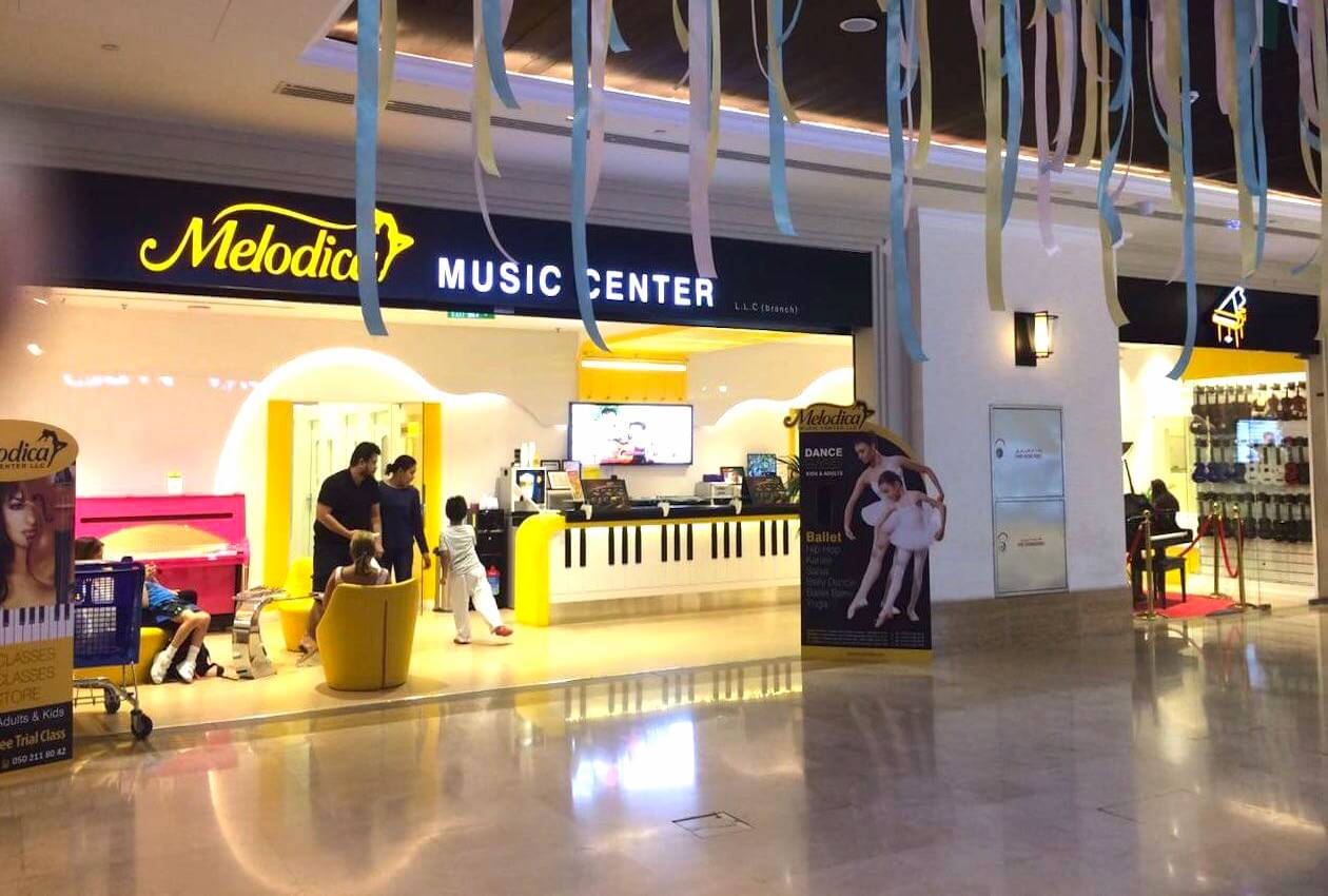 Melodica Music Center Wasl Road branch