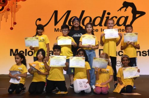 Hiphop classes in melodica dubai