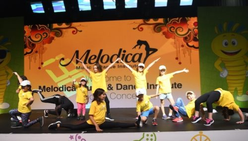 Melodica Hip Hop show Dubai world trade center