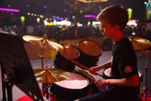 melodica Drum concert