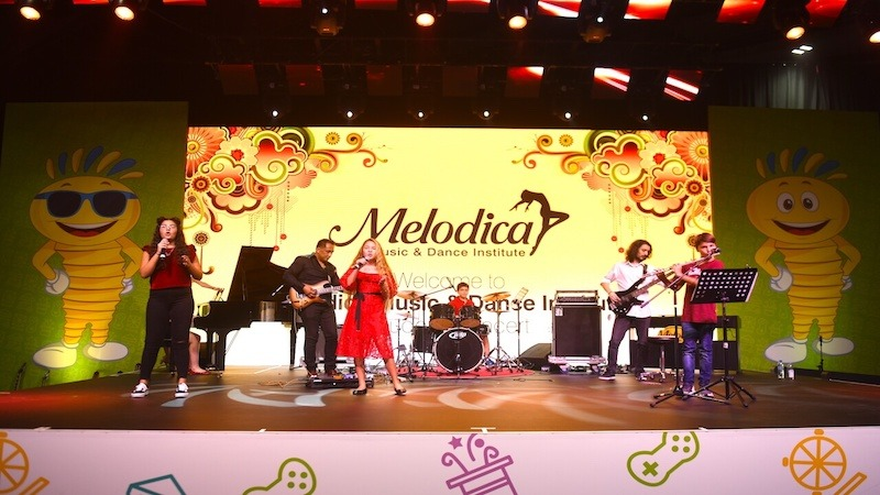 Melodica Students concert in dubai world trade center