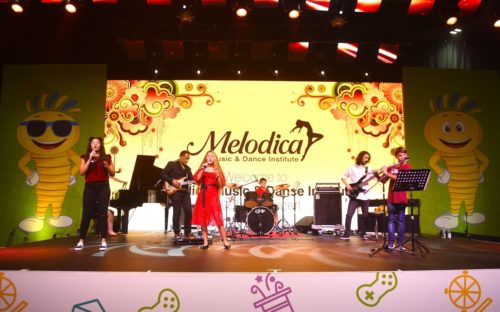 Melodica Music school students concert in dubai