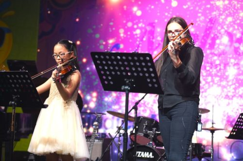 violin lessons and concerts dubai
