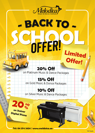 Melodica Back to School Offer